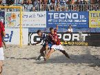 #BeachSoccer - contrasto Terracina vs Milano
