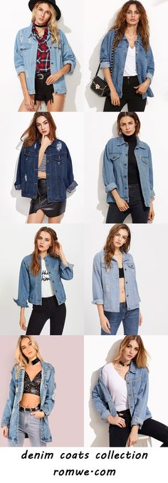 denim coats 2017 - us.romwe.com