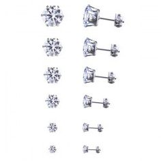 SHARE & Get it FREE | 6 Pcs Simple Rhinestone Different Sizes Stud EarringsFor Fashion Lovers only:80,000+ Items • FREE SHIPPING Join Twinkledeals: Get YOUR $50 NOW!