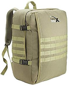 Cabin Max Molle Cabin Backpack - Tactical Military Hand Luggage 22 x x Luggage Store, Hand Luggage, Luggage Sets, Suitcase Packing, Tactical Backpack, Best Deals Online, Online Bags, Cabins, Organizers