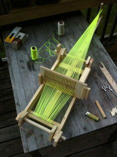 How to make a loom: Or, why I should stare at the tutorial, but keep avoiding power tools.
