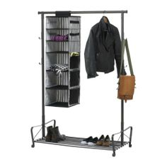 Portis Clothes Rack, Black