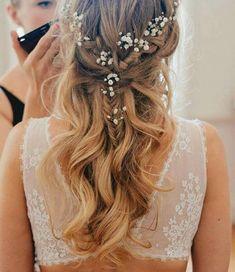 Gorgeous boho hair with loose curls    #bridal #boho #boholuxe #bohobride #bridetobe #bohowedding #bohemianluxe #bohemianbride #bohemianstyle #bohemianwedding #bridalhair #weddinghair #hairstyles #loosecurls #braids #plaits #flowers #flowerhair #weddinginspo #weddingideas #weddingmakeup #weddinghairstyles #sexyback #engaged #bridesmaidshair