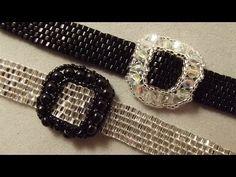 "How to do simple bracelet ""Dwarfs belt"" - YouTube"