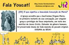 Youcat| O que significa a Imaculada Conceição de Maria? #Youcat83