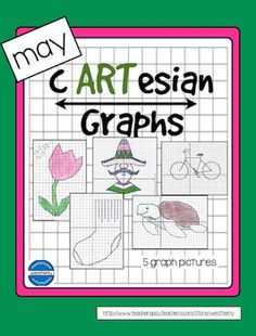 Graphing activities for the month of MayPlotting Coordinate Points for days in May...May Day/MothersDay - FlowerNational Lost Sock Day May 9 - Sock Cinco de Mayo- Mexican Hombre National Bike Month- bicycle May 23 is World Turtle Day - TurtleThis resource includes five mystery pictures created by plotting coordinate pairs in all four quadrants.