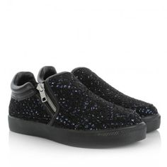 Ash Sneakers – Intense Bis Black Blue/Black – in blau, schwarz – Sneakers für Damen