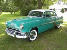 1954 Pontiac Chieftain Four Door Sedan