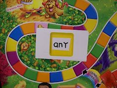 Sight Word Candyland! --Love the idea of making learning fun by making your own games. So engaging for the kids too