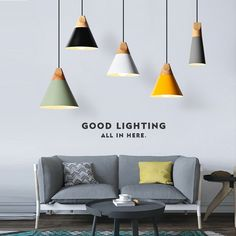 Livewin Modern Colorful Pendant Light DIY 3 Heads pendant lamps Kitchen Fixtures Avize Wood Aluminum LED Hanging luminaire Deco-in Pendant Lights from Lights & Lighting on Aliexpress.com | Alibaba Group