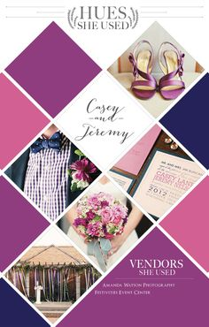 Preppy Purple, Pink and Navy Wedding Inspiration. Photos by Amanda Watson Photography. #wedding #purple #pink #navy #bouquet #altar #invite #bout #shoes #bowtie #polkadots #gingham #stripes