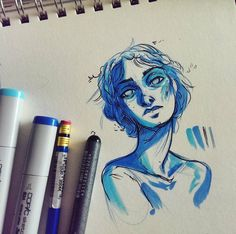 marker markers copic drawing pen drawings sketch things alcohol sketches artwork instagram sketchbook open arts