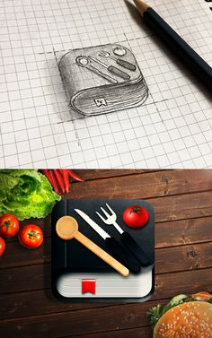 Food iOS Icon on Behance
