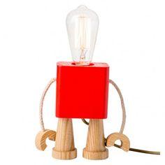 Lampe Robo rouge