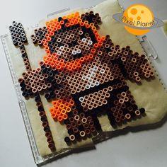 Ewok - Star Wars perler beads by pixel_planet_