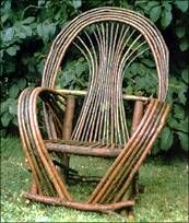 Bent Willow Furniture... just needs a colorful pillow ;)