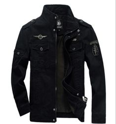 Brand Jeeprich Men Military Army jackets plus size 6XL cost outerwear sports embroidery mens jacket for aeronautica militare-in Jackets from Men's Clothing & Accessories on Aliexpress.com | Alibaba Group