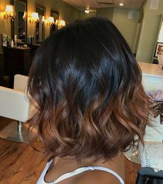 23 Different Ways to Rock Dark Brown Hair with Highlights Ombre Highlights for Dark Brown Hair 23 Di Highlights For Dark Brown Hair, Ombre Highlights, Brown Hair Shades, Light Brown Hair, Black Brown Hair, Black To Brown Ombre Hair, Highlights For Brunettes, Chunky Highlights, Caramel Highlights