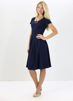 169351a9abd93 Great new Navy dress available in stunning colors for every season