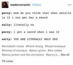 Percy Jackson Head Canon, Percy Jackson Fan Art, Percy Jackson Memes, Percy Jackson Books, Percy Jackson Fandom, Percy Jackson Wallpaper, Emotionally Exhausted, Wise Girl, Rick Riordan Books