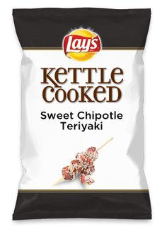 Wouldn't Sweet Chipotle Teriyaki be yummy as a chip? Lay's Do Us A Flavor is back, and the search is on for the yummiest flavor idea. Create a flavor, choose a chip and you could win $1 million! https://www.dousaflavor.com See Rules.