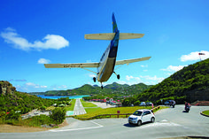 Who doesn't love the St. Barths Airport?  LOVE the St Barths Airport :) #stbarts #airport #travel