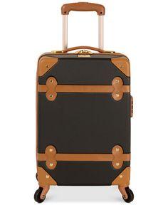 Diane von Furstenberg Adieu 18 Carry On Hardside Spinner Suitcase - Carry-On Luggage - luggage & backpacks - Macy's Carry On Luggage, Carry On Bag, Travel Luggage, Best Travel Websites, World Of Wanderlust, Rolling Bag, Hardside Spinner Luggage, Shops, Find Cheap Flights