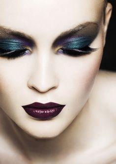 Romain Rosa makeup beauty - eyes and lips