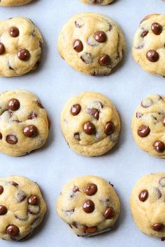 Cookie Dough STUFFED Chocolate Chip Cookies. The ooey-gooey-ist cookies you'll ever have!