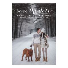 White Whimsical Script Photo Save The Date on Zazzle @zazzle #wedding #wed #marry #marriage #bridal #shower #engagement #party #personalize #customizable #fun #bride #groom #couple #planning #plan #love #emotion #family #letter #send #invite #invitation #friends #buy #shop #sale #shopping #cool #awesome #sweet #nice