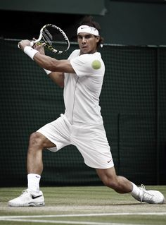 Rafael Nadal #Nike Athlete #tennis