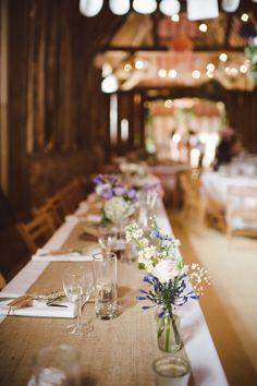 David Fielden, Wheatfields and A Charming Rustic Barn Setting ~ The Pretty Summertime Wedding of Emma and Jordan