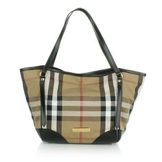 Burberry – Bridle House Small Canterbury Tote Black - Burberry Bridle House Small Canterbury Tote Black Handtaschen