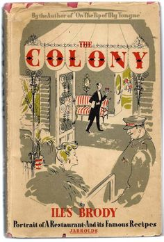 Vintage cook book: The Colony