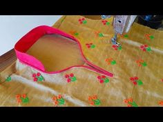 hi guys, I am Payal Verma in this video i will show you How to Cut and Stitch half collar high neck kurti with in piping neck design for kurti and blouse you. Churidhar Neck Designs, Blouse Designs High Neck, Neck Designs For Suits, Neckline Designs, High Neck Blouse, Fancy Blouse Designs, Collar Designs, High Neck Kurti Design, Collar Kurti Design