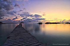 mabul island #sunrise #malaysia