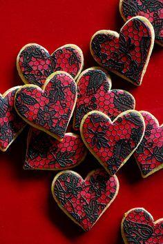 Lace Sugar Cookies