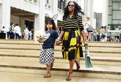 New York Fashion Week - Mommy daughter combo!  Please like, comment, and share! :) <3 I'm also on facebook, find me at www.facebook.com/alovingmom29