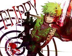 Happy Tree Friends anime flippy