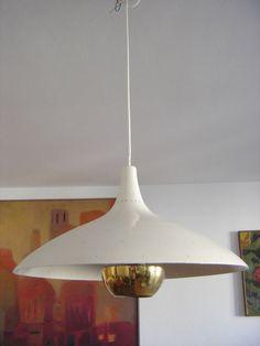 Rare and Elegant Mid Century Pendant Light  Ceiling Lamp