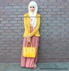 Hijab fashion inspiration | via Facebook
