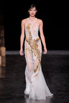 Basil Soda Haute Couture Fall 2012 collection.