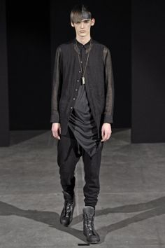 posting for shirt: shape and method of gathering __ Cedric Jacquemyn -- a/w 2014