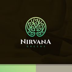 Design a high-end, cutting-edge yet organic, earthy logo for Nirvana Greens by metong