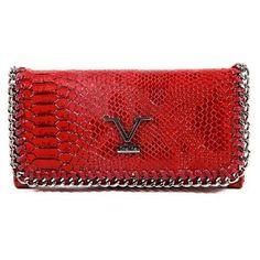 3eb5f47f089d ONE SIZE Versace 19.69 Abbigliamento Sportivo Srl Milano Italia Womens Purse  VEW00100 CLARET RED L572-BTB-9436-30624