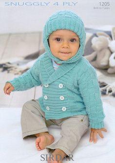 Sirdar--Jacket and Helmet (birth - age 7)