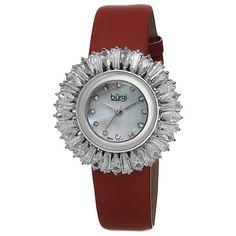 Burgi Ladies Diamond Dial Stainless Steel Bracelet Watch (23 KWD) ❤ liked on Polyvore featuring jewelry, watches, jewelry & watches, white, women's watches, stainless steel bracelet watch, bezel watches, diamond watches, dial watches and stainless steel watch bracelet