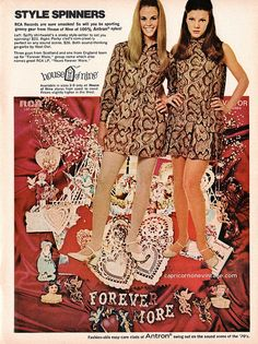 1970 teen magazine rca records fashion promo