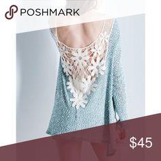 Spotted while shopping on Poshmark: Daisy Crochet Back Top! #poshmark #fashion #shopping #style #Bare Anthology #Tops