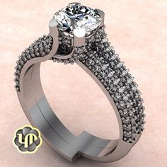 #nofilter #engagementring #jewelry #designs #love #luxury #whitegold #diamonds #round #brilliance #marriage #sayyes #idos #fancy
